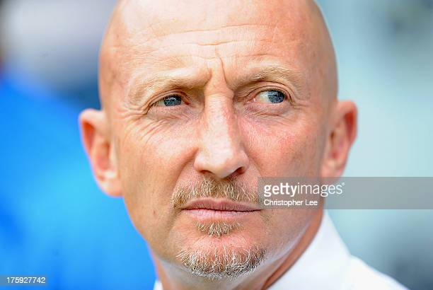 Manager Ian Holloway of Crystal Palace during a Pre Season Friendly between Crystal Palace and Lazio at Selhurst Park on August 10 2013 in London...