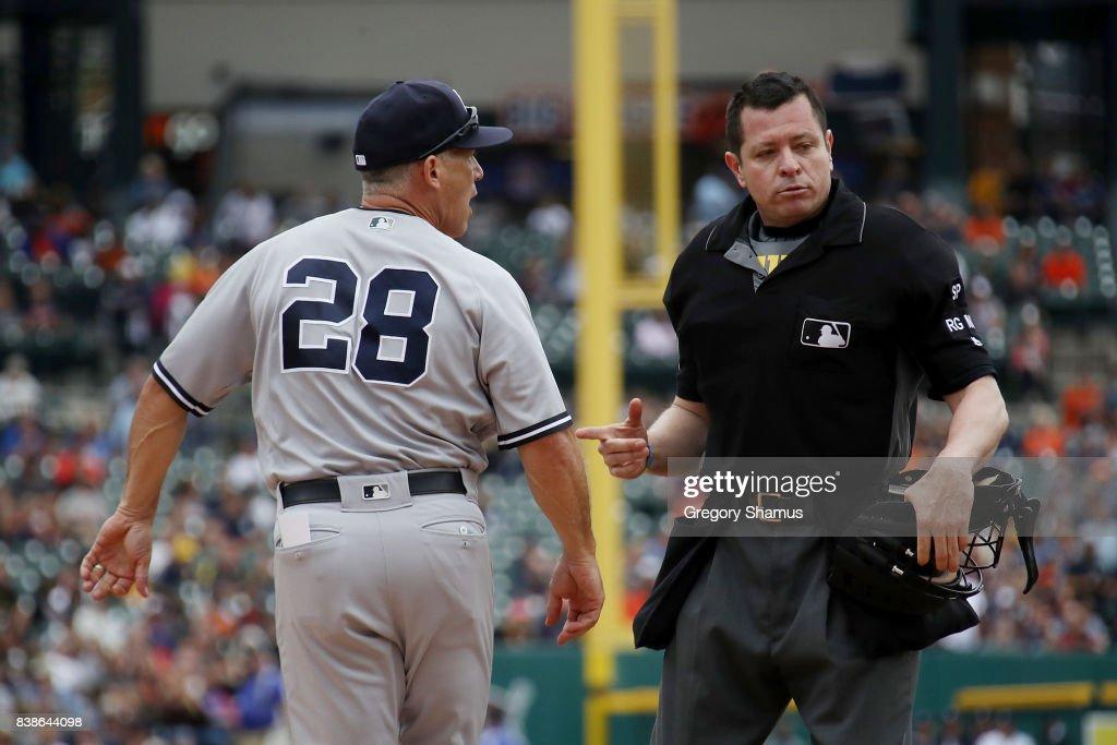 New York Yankees v Detroit Tigers