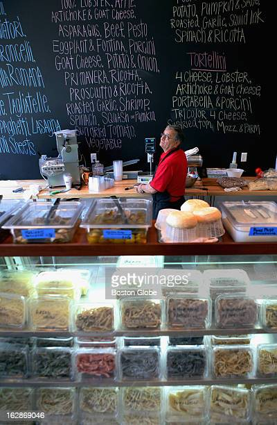 Manager Joe Locilento at DePasquale's Homemade Pasta Shoppe in the North End Friday July 10 2009