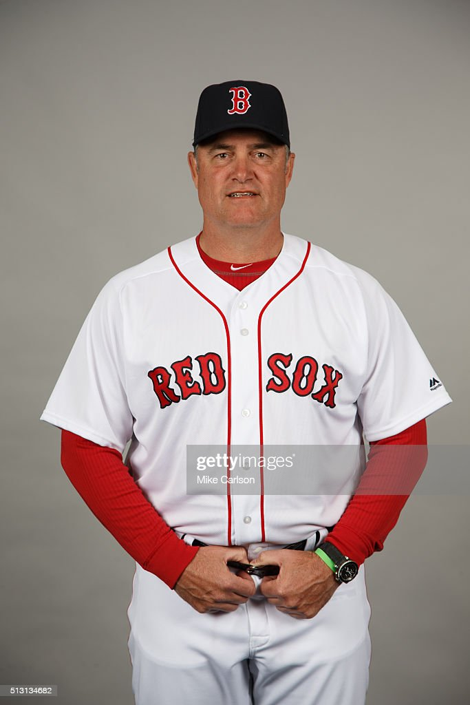 Manager <a gi-track='captionPersonalityLinkClicked' href=/galleries/search?phrase=John+Farrell+-+Baseball+Manager&family=editorial&specificpeople=10307520 ng-click='$event.stopPropagation()'>John Farrell</a> #53 of the Boston Red Sox poses during Photo Day on Sunday, February 28, 2016 at JetBlue Park in Fort Myers, Florida.
