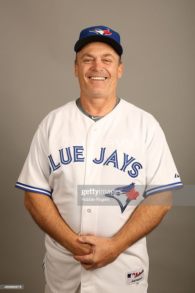 Manager <a gi-track='captionPersonalityLinkClicked' href=/galleries/search?phrase=John+Gibbons&family=editorial&specificpeople=218120 ng-click='$event.stopPropagation()'>John Gibbons</a> #5 of the Toronto Blue Jays poses during Photo Day on Saturday, February 28, 2015 at Florida Auto Exchange Stadium in Dunedin, Florida.