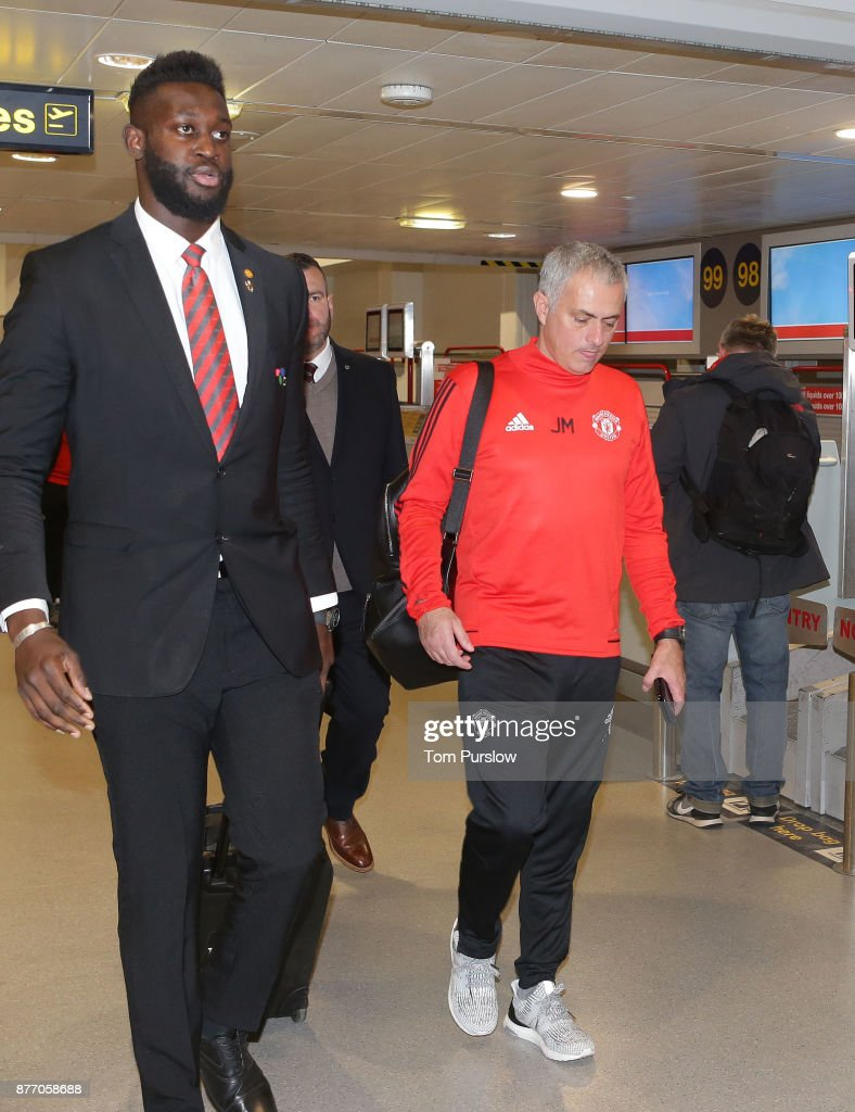 Manchester United Travel to Basel for their UEFA Champions League Match
