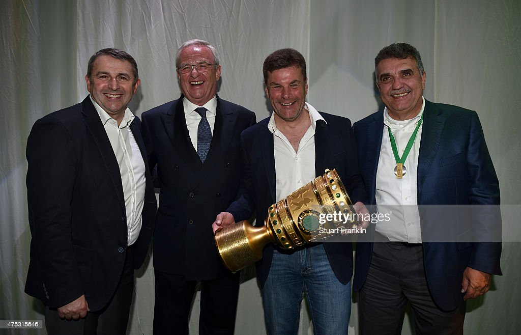 VfL Wolfsburg Champions Party - DFB Cup Final
