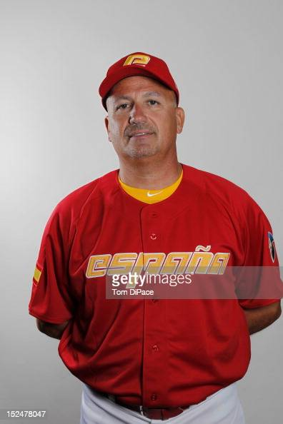 Manager Mauro Mazzotti of Team Spain poses for a head shot for the World Baseball Classic Qualifier at Roger Dean Stadium on September 18 2012 in...
