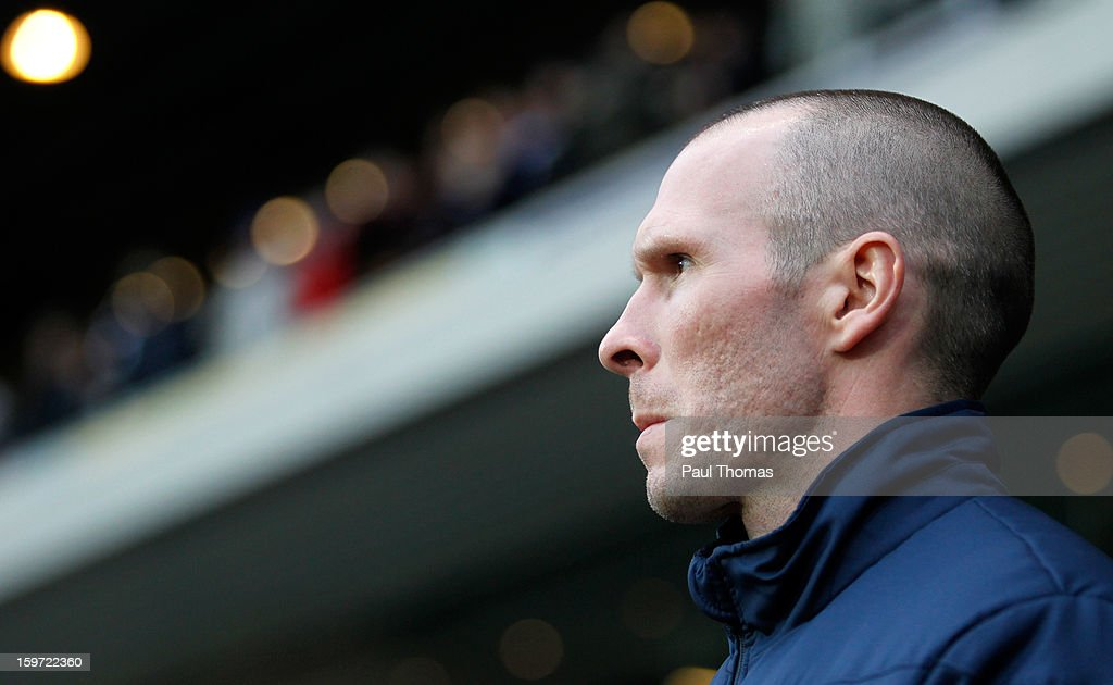 Manager Michael Appleton of Blackburn before the npower Championship match between Blackburn Rovers and Charlton Athletic at Ewood Park on January 19, 2013 in Blackburn, England.