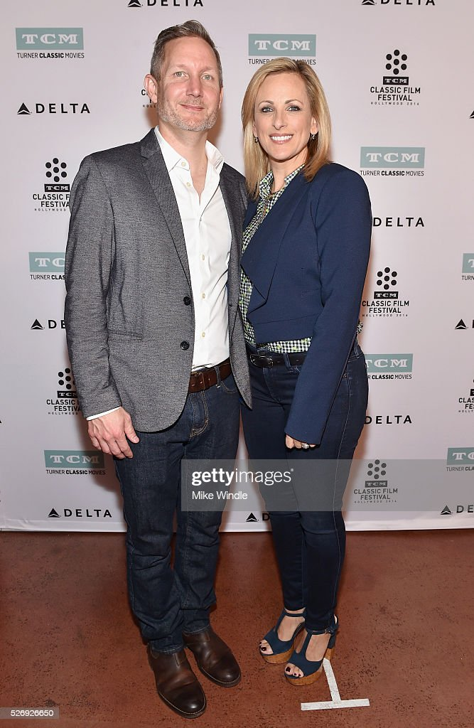 Manager of Brand Activation for TCM Mark Wynns (L) and actress Marlee Matlin attend 'Children of a Lesser God' screening during day 4 of the TCM Classic Film Festival 2016 on May 1, 2016 in Los Angeles, California. 25826_008