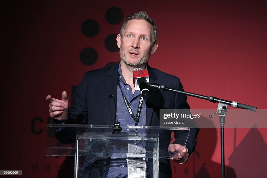 Manager of Brand Activation for TCM Mark Wynns speaks onstage at 'A Face in The Crowd' screening during day 3 of the TCM Classic Film Festival 2016 on April 30, 2016 in Los Angeles, California. 25826_009