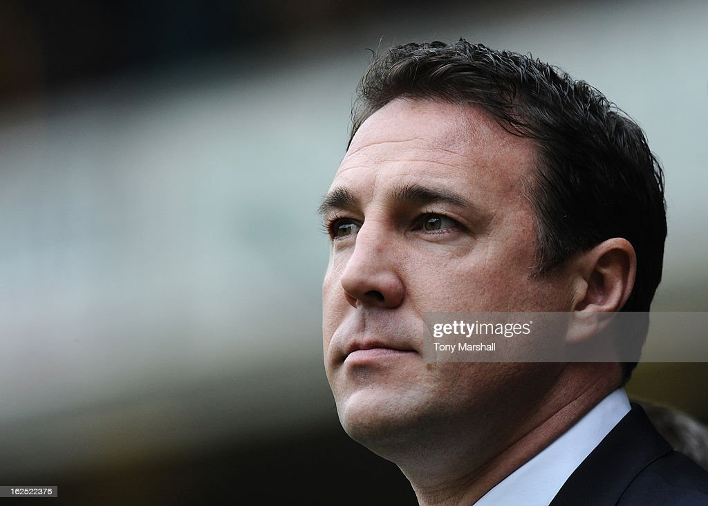 Manager of Cardiff Malky Mackay during the npower Championship match between Wolverhampton Wanderers and Cardiff City at Molineux on February 24, 2013 in Wolverhampton, England.