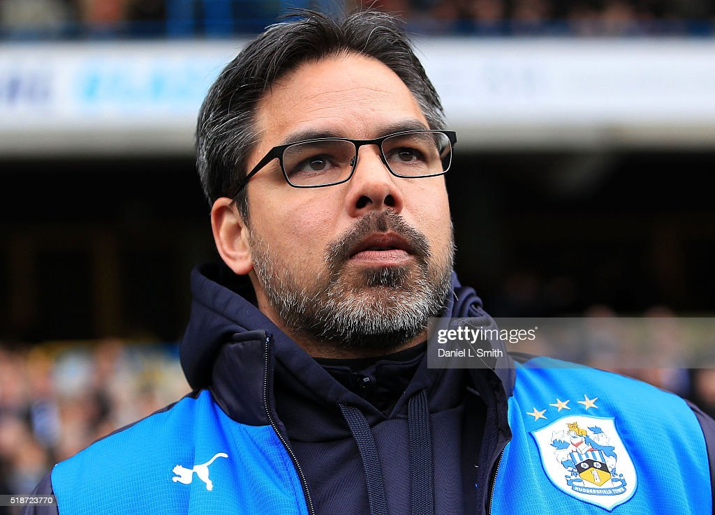 Manager of Huddersfield Town FC, David Wagner prior to the Sky Bet Championship match between Huddersfield Town and Sheffield Wednesday at Galpharm Stadium on April 2, 2016 in Huddersfield, United Kingdom.
