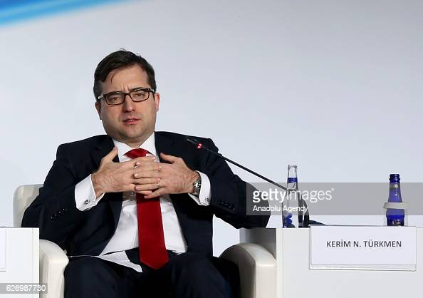 Manager of the Mid Europa Partners stanbul office Kerim Turkmen attends the 'International Investment session' during the 7th Bosphorus Summit...