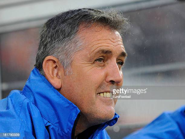 Manager Owen Coyle of Wigan Athletic FC during the UEFA Europa League group stage match between SV Zulte Waregem and Wigan Athletic FC held on...