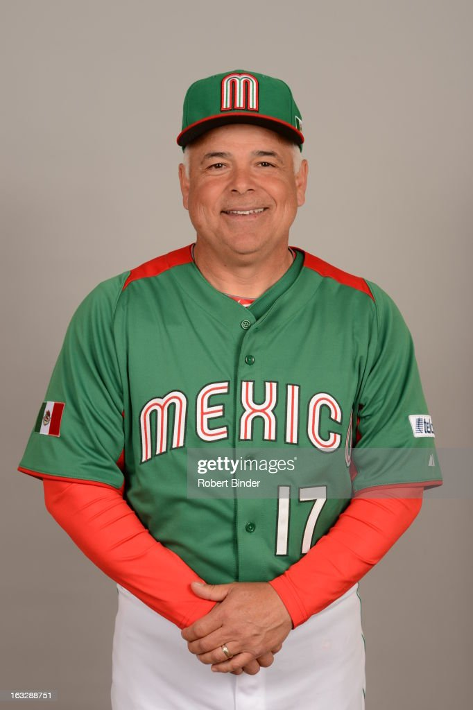 Manager Rick Renteria #17 of Team Mexico poses for a headshot for the 2013 World Baseball Classic on Monday, March 4, 2013 at Camelback Ranch in Glendale, Arizona.