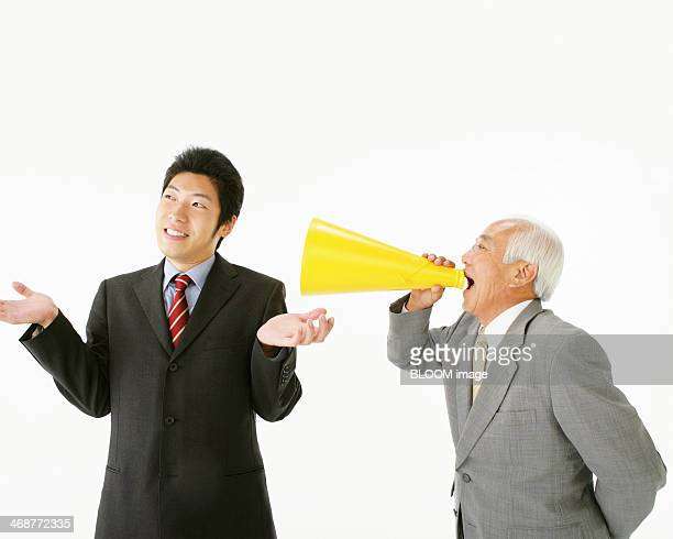 Manager Shouting In Front Of Employee