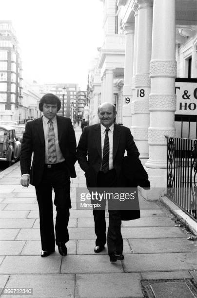 Manager Terry Venables and Chairman Jim Gregory of Queens Park Rangers FC went to the Football Association HQ in Lancaster Gate to lodge their...