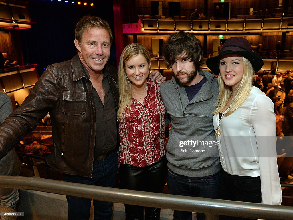 Manager TK Kimbrell, Laura Covington, Singers/Songwriters Shannon Campbell and Ashley Campbell Son and Daughter of Recording Artist Glen Campbell attend Ricky Skaggs - Day 2 Bluegrass Rules at the CMA Theater on November 19, 2013 in Nashville, Tennessee. Skaggs was recently announced as the Country Music Hall of Fame and Museum's 2013 Artist-in-Residence.