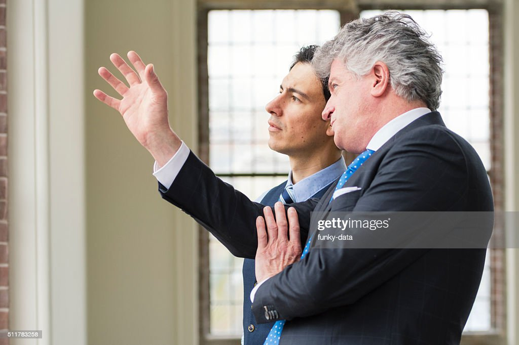 Manager with apprentice : Stock Photo