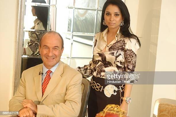 Managing and General Director of Salvatore Ferragamo Italia SpA Michele Norsa and Sheetal Mafatlal