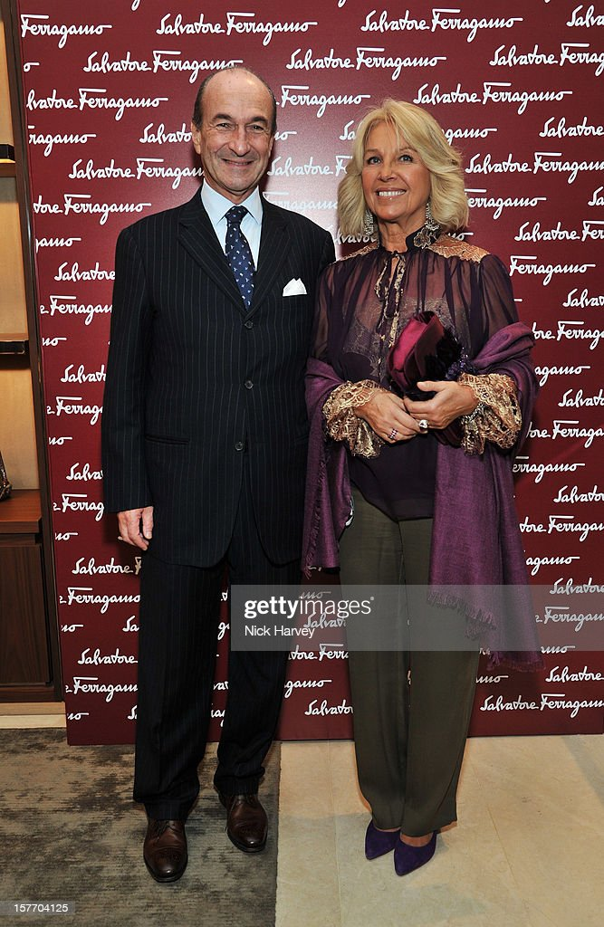 Managing and General Director of Salvatore Ferragamo Italia S.p.A. Michele Norsa attends the flagship store launch of Salvatore Ferragamo's Old Bond Street Boutique at 24 Old Bond Street on December 5, 2012 in London, England.