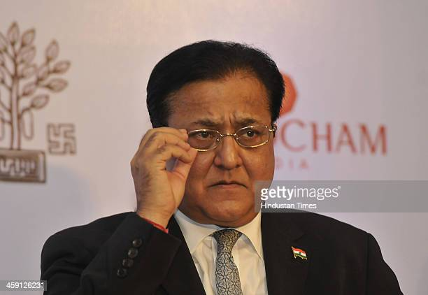 Managing Director and CEO Yes Bank Rana Kapoor during a conference on Bihar Kal Aaj aur Kal Governance at the grassroots A model for India organized...