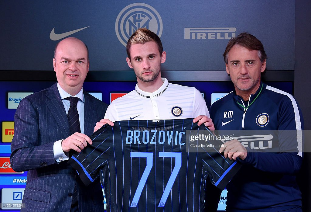 FC Internazionale Unveils New Signing Marcelo Brozovic