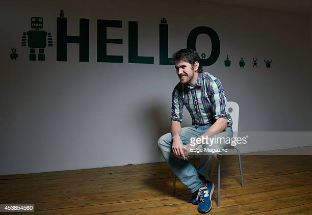 Managing director and programmer Sean Murray of English video games developer Hello Games photographed at the HG studio in Guildford on December 12...
