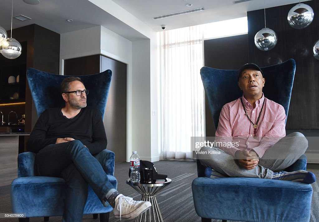 Managing director of ADHD Josh Mandel and Founder of All Def Digital Russell Simmons and President speak at the Fast Company Creativity Counter-Conference 2016 on May 24, 2016 in Los Angeles, California.