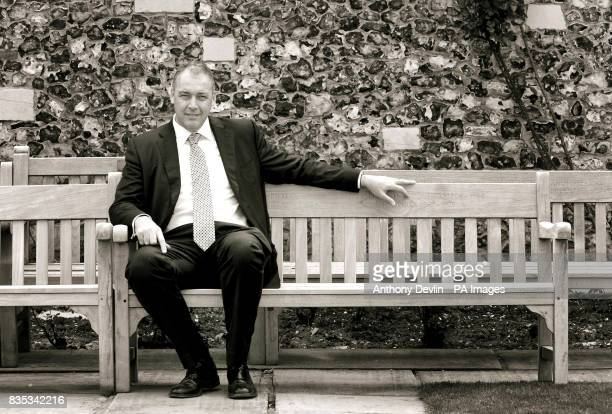 Managing Director of Cricket Angus Fraser poses for a portrait during a Media Day at Lord's Cricket Ground London