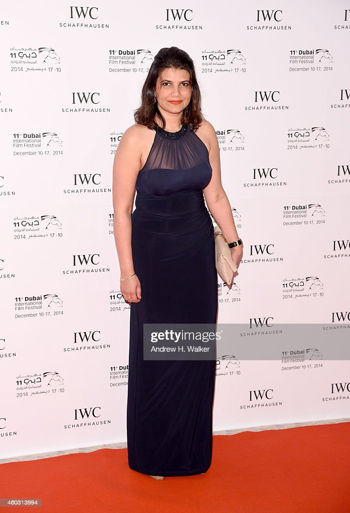 Managing Director of DIFF Shivani Pandya attends the IWC Filmmakers award during day two of the 11th Annual Dubai International Film Festival held at...