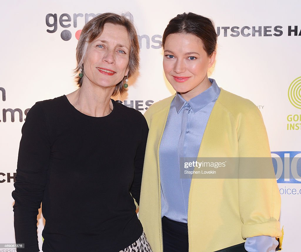 Managing Director of German Films Mariette Rissenbeeck and actress Hannah Herzsprung attend the KINO New York Film Festival opening night at Tribeca...
