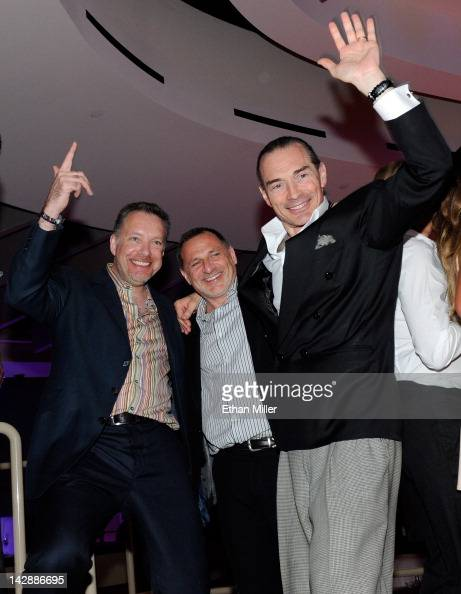 Managing Director of Live Entertainment BBC Worldwide Philip Murphy the executive producer of 'Dancing With the Stars Live in Las Vegas' Steve Levine...