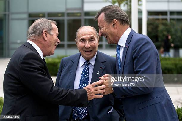 Managing Director of Marcel Dassault Group Charles Edelstenne Head of Dassault Group Serge Dassault and Vice Chairman of the Board of Directors and...