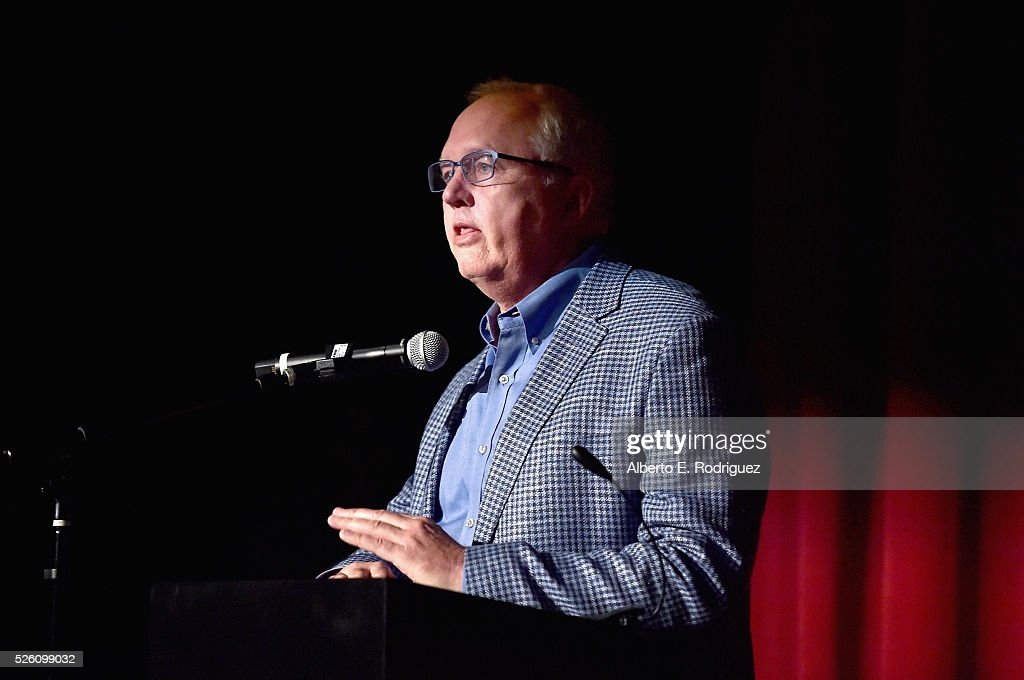 Managing Director of Preservation and Foundation Programs for the Academy of Motion Picture Arts and Sciences Randy Haberkamp speaks onstage during 'Lassie Come Home' during day 2 of the TCM Classic Film Festival 2016 on April 29, 2016 in Los Angeles, California. 25826_006