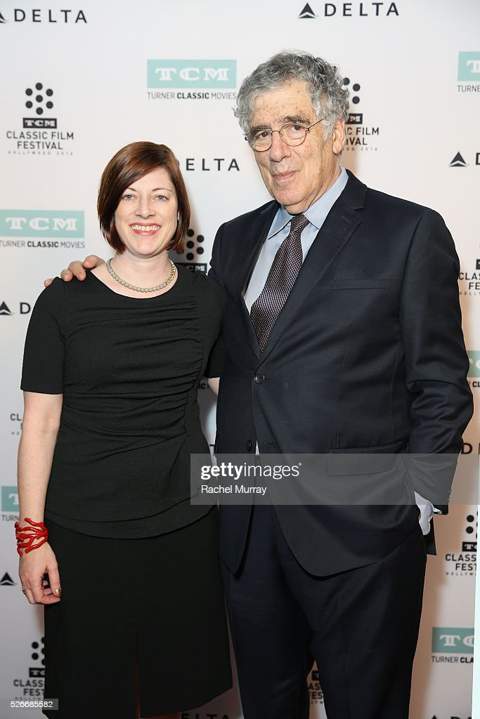 Managing Director of TCM Classic Film Festival Genevieve McGillicuddy (L) and actor <a gi-track='captionPersonalityLinkClicked' href=/galleries/search?phrase=Elliott+Gould&family=editorial&specificpeople=213079 ng-click='$event.stopPropagation()'>Elliott Gould</a> attend 'The Long Goodbye' screening during day 3 of the TCM Classic Film Festival 2016 on April 30, 2016 in Los Angeles, California. 25826_007