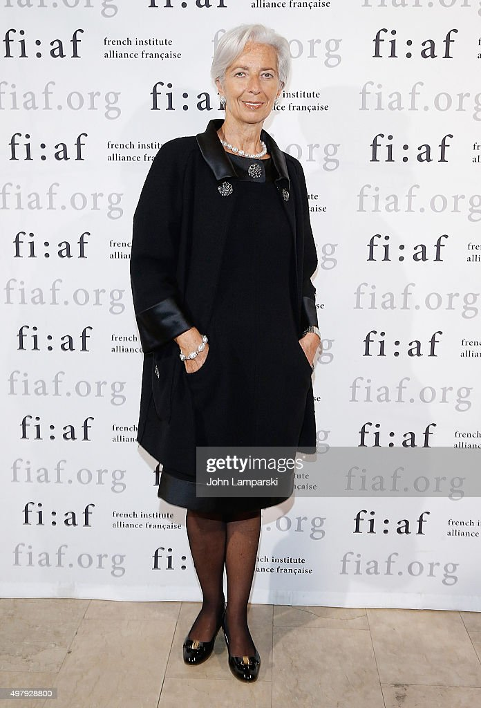 Managing Director of the International Monetary Fund Christine Madeleine Odette Lagarde attends 2015 Trophee Des Arts Gala at The Plaza Hotel on November 19, 2015 in New York City.