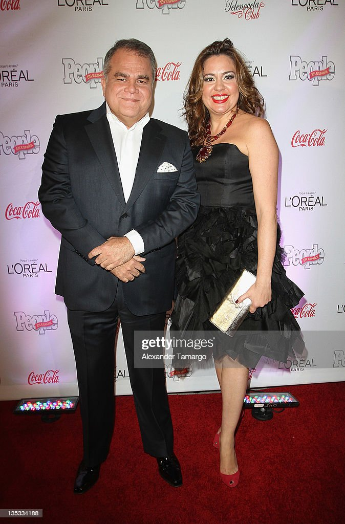 Managing Editor Armando Correa and Publisher Monique Manso attend People en Espanol's Las Estrellas del Ano 2011 at Rubell Family Collection on December 8, 2011 in Miami, Florida.