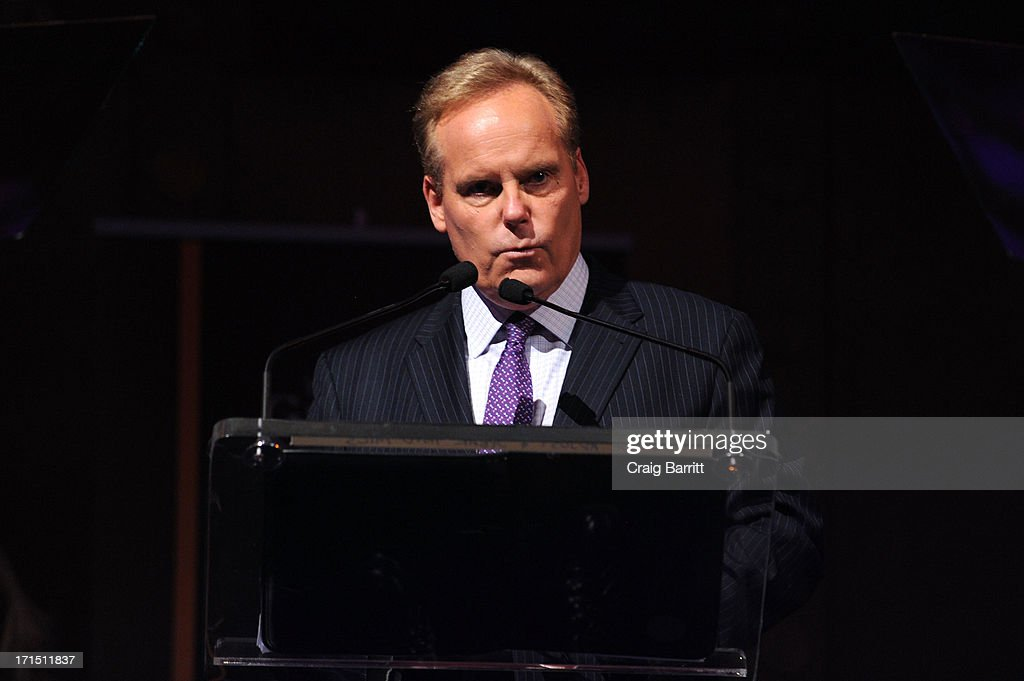Managing Editor of CNBC Business News, Tyler Mathisen speaks at the 2013 Gerald Loeb Awards on June 25, 2013 in New York City.