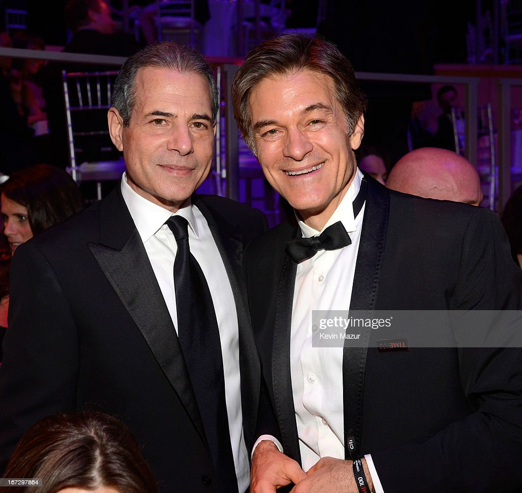 TIME managing editor Rick Stengel and Dr Mehmet Oz attend TIME 100 Gala, TIME'S 100 Most Influential People In The World at Jazz at Lincoln Center on April 23, 2013 in New York City.