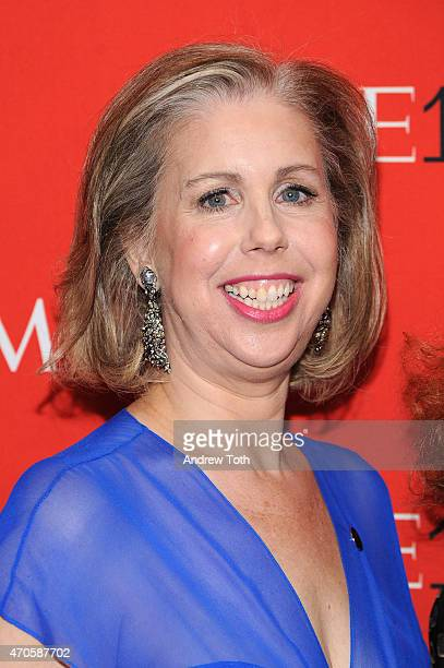 Managing Editor Time Magazine Nancy Gibbs attends the 2015 Time 100 Gala at Frederick P Rose Hall Jazz at Lincoln Center on April 21 2015 in New York...