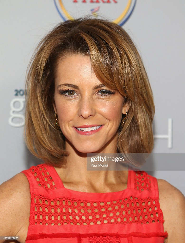 Managing Editor/Anchor at Bloomberg Television Stephanie Ruhle attends the Garden Brunch prior to the 102nd White House Correspondents' Association Dinner at the Beall-Washington House on April 30, 2016 in Washington, DC.