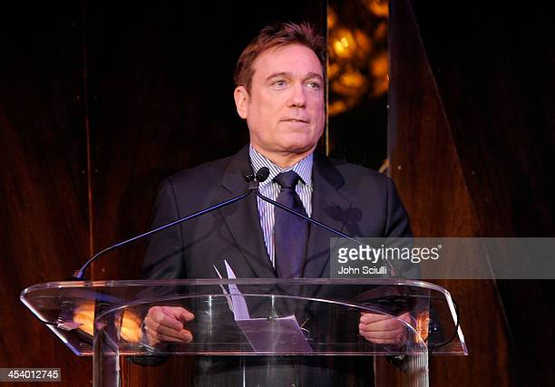 Managing Partner Kevin Huvane speaks onstage at the March of Dimes Celebration of Babies Luncheon at Beverly Hills Hotel on December 6 2013 in...