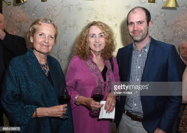 Managing Partners at Kean Kolar Communications Deborah Kolar and Jan Kean and COO of BAFTA Los Angeles Matthew Wiseman attend BAFTA Honours Riot...
