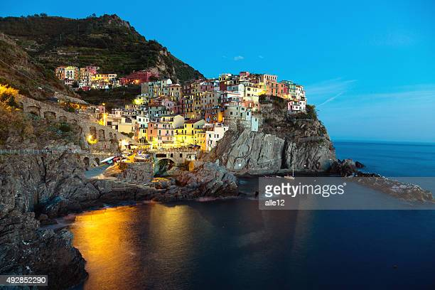 Manarola, Cinque Terre by night