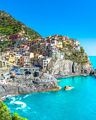 Beautiful view of Manarola, Cinque Terre