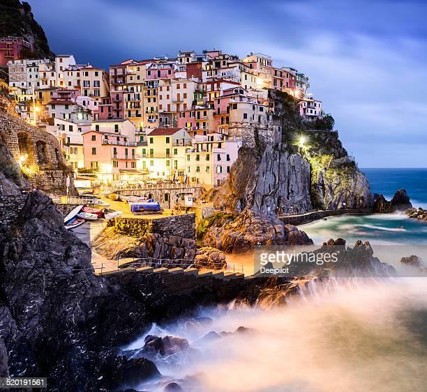 Manarola Village in the Cinque Terre Italy