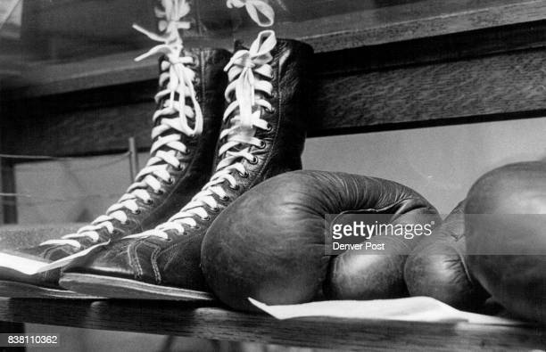 Manassa Colorado Jack Dempsey's equipment Credit Denver Post