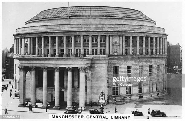 Manchester Central Library 1937 Inspired by the Pantheon in Rome the library was built in the 1930s Sights of Britain third series of 48 cigarette...