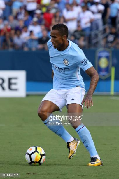 Manchester City defender Danilo during the game between Manchester City and Tottenham Hotspur xxx defeated xxxx by the score of xx This International...
