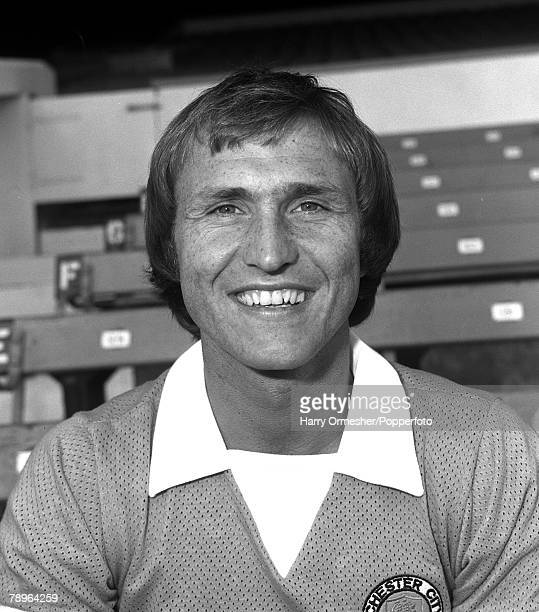 Manchester City FC Photocall Dennis Tuert 23rd July 1975