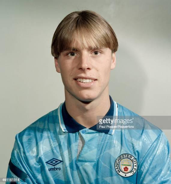 Manchester City footballer Gary Flitcroft circa August 1992