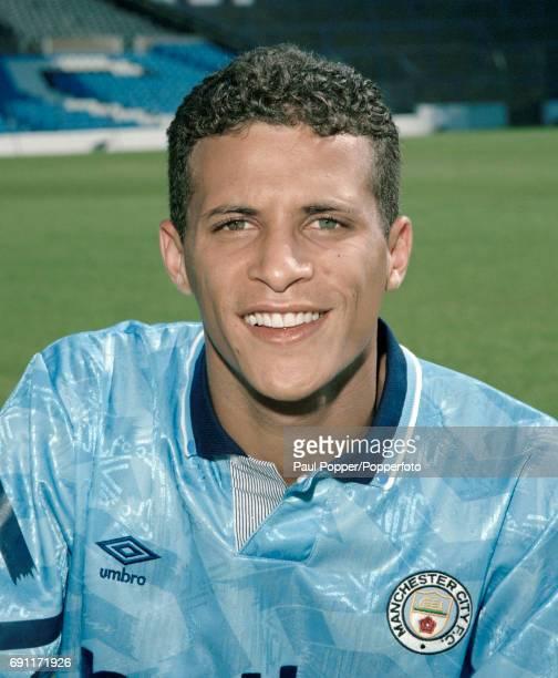 Manchester City footballer Keith Curle circa August 1991